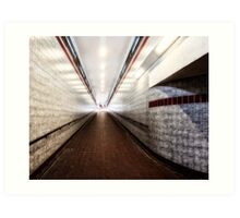 Woodford Tube Station Art Print