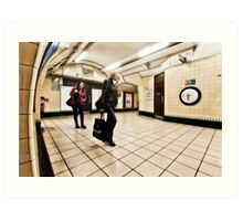 Wood Green Tube Station Art Print