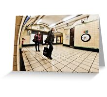 Wood Green Tube Station Greeting Card