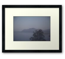 Oldman Sleeping  Framed Print
