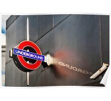 Wood Lane Tube Station Poster
