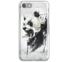 Angry Panda iPhone Case/Skin