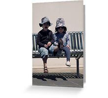 I am blessed... Greeting Card