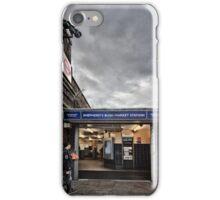 Shepherd's Bush Market Tube Station iPhone Case/Skin