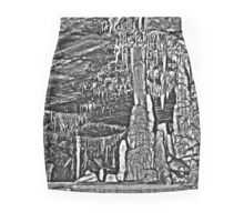 Monochromatic out of control Mini Skirt