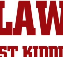 HARWAD LAW FULL TIME MOM Sticker