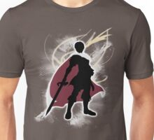 Super Smash Bros. White Marth Silhouette Unisex T-Shirt