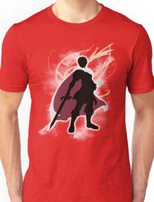 Super Smash Bros. White Marth Silhouette T-Shirt