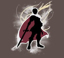 Super Smash Bros. White Marth Silhouette Unisex T-Shirt