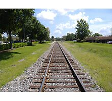 Ye old railroad Photographic Print