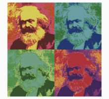 Karl Marx Pop Art by Chunga