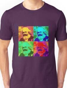 Karl Marx Pop Art Unisex T-Shirt