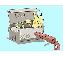 The Secret to Thor's Hammer Photographic Print
