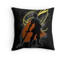 Super Smash Bros. Black Marth Silhouette Throw Pillow