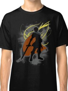 Super Smash Bros. Black Marth Silhouette Classic T-Shirt