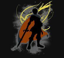 Super Smash Bros. Black Marth Silhouette Unisex T-Shirt