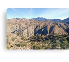 Santa Rosa Mountains Canvas Print