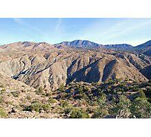 Santa Rosa Mountains Photographic Print