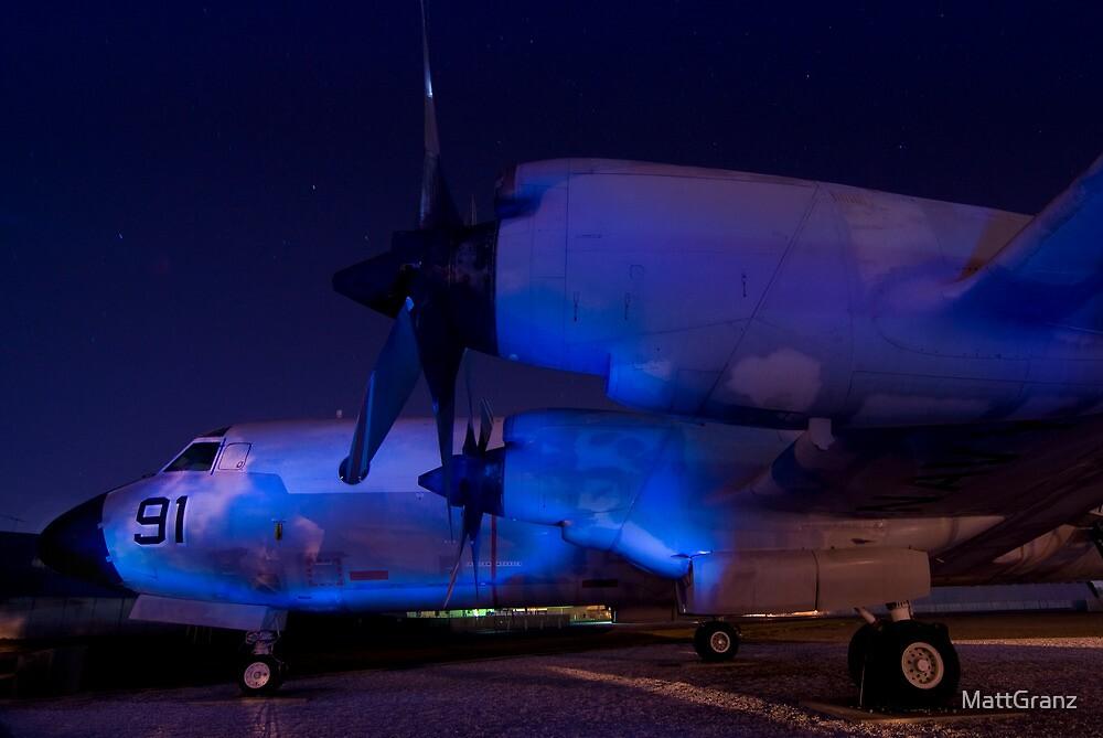 P-3C Orion at Moffett Field, CA by MattGranz