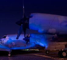 P-3C Orion at Moffett Field, CA by MattGranz