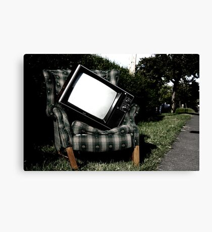 nothing on Canvas Print