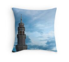 Mosque in the Evening Throw Pillow