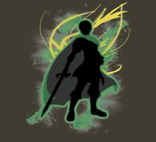 Super Smash Bros. Green Marth Silhouette Unisex T-Shirt