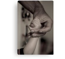 hands full of love Canvas Print