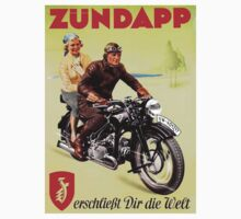 Zundapp Motorcycles Kids Clothes