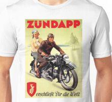 Zundapp Motorcycles Unisex T-Shirt