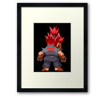 Puzzle Demon Framed Print