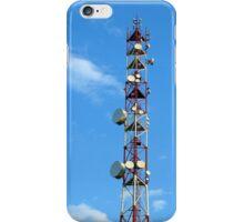 Transmitter antenna iPhone Case/Skin
