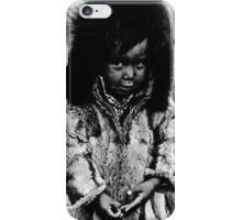 USA Alaska eskimo boy 1970s iPhone Case/Skin
