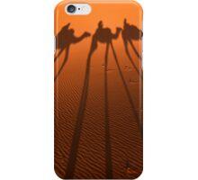 Desert Camel Train iPhone Case/Skin