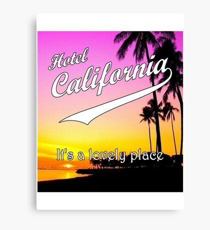 Hotel California Canvas Print