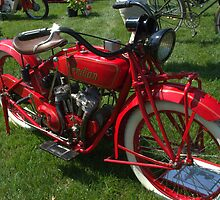 1925 Indian Scout Motorcycle by TeeMack