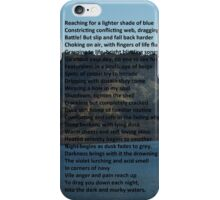 Dark and Murky Waters iPhone Case/Skin