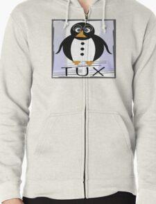 TUX:  STRAIGHT-UP Zipped Hoodie