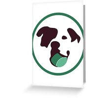Bully Ball Greeting Card