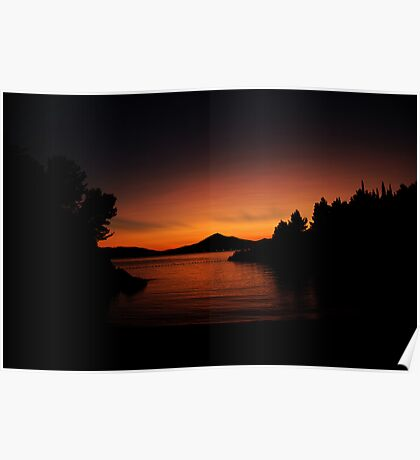 Private Sunset Poster