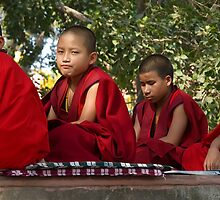 Budham Saranam Gachchhami-The Young Budhist Monks by Mukesh Srivastava