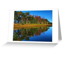 Mirror of water Greeting Card