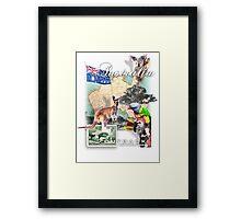 austraila Framed Print
