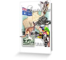 austraila Greeting Card