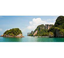 Tropical Island Beach Photographic Print