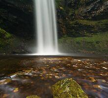 Henrhyd Falls, Brecon Beacons by Steve  Liptrot