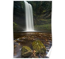 Henrhyd Falls, Brecon Beacons Poster