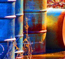 Old Barrels #2 Sticker