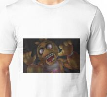 Chica on the Cameras Unisex T-Shirt