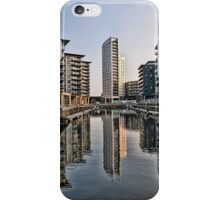 Clarence Dock Leeds City scape iPhone Case/Skin